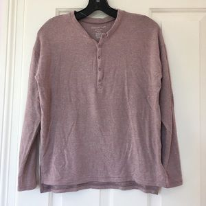 American Eagle Long Sleeve Henley XXS